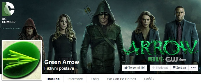 Arrow Facebook